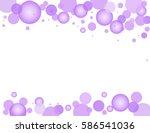 Translucent Purple Hue Bubbles...