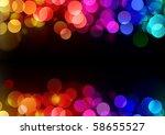 Vector Illustration Of Blurred...