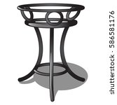 Forged Stand For Flower Pot...