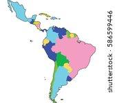 latin america   Shutterstock .eps vector #586599446
