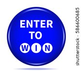 enter to win icon. internet... | Shutterstock . vector #586600685