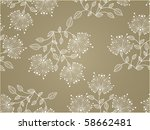 flower decoratively... | Shutterstock .eps vector #58662481