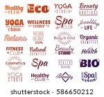 vector collection of logo and...   Shutterstock .eps vector #586650212