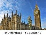Big Ben Tower Houses Of...