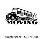 Long Distance Moving   Retro...