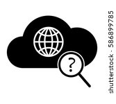 global search icon. internet...