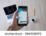 chiang mai  thailand   feb 25 ...   Shutterstock . vector #586908092