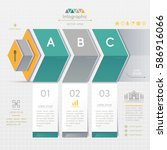 infographics design template... | Shutterstock .eps vector #586916066