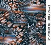 Texture Of Print Fabric Leopard ...