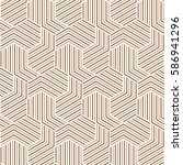 brown and white pattern... | Shutterstock .eps vector #586941296