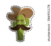 Sticker Animated Sketch Cactus...