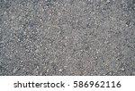 granite gravel of macadam  rock ... | Shutterstock . vector #586962116