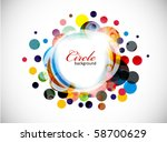 abstract colorful background ....