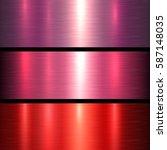 metal red texture background ... | Shutterstock .eps vector #587148035