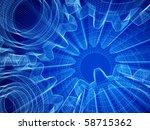 background industrial design.... | Shutterstock . vector #58715362