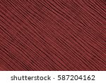 red crinkled fabric with... | Shutterstock . vector #587204162