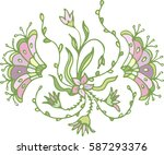 illustration  of  abstract... | Shutterstock .eps vector #587293376