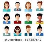 vector illustration of a... | Shutterstock .eps vector #587357642