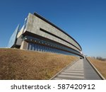 museo nazionale dell automobile ... | Shutterstock . vector #587420912
