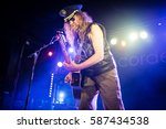 julian cope performs at... | Shutterstock . vector #587434538