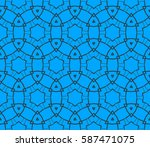 abstract repeat backdrop....   Shutterstock . vector #587471075