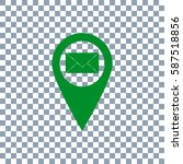 location icon vector.email icon ... | Shutterstock .eps vector #587518856