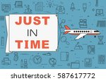 """airplane with banner """"just in... 