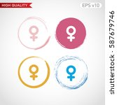 sex icon. button with sex icon. ...   Shutterstock .eps vector #587679746