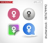 sex icon. button with sex icon. ...   Shutterstock .eps vector #587679992