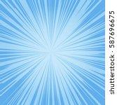zoom burst background   Shutterstock .eps vector #587696675
