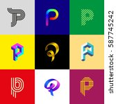 "Letter ""p"" Big Logo Pack...."