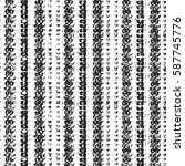 distressed overlay texture of... | Shutterstock .eps vector #587745776