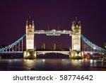 london's tower bridge...