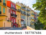 monaco  monte carlo   september ... | Shutterstock . vector #587787686
