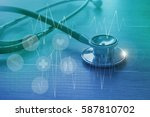 health care and medical... | Shutterstock . vector #587810702