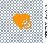 heart vector icon  love symbol...