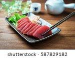 Tuna Sashimi  Raw Fish In...