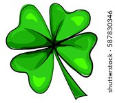 four leaf clover icon. vector...