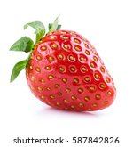 strawberry   Shutterstock . vector #587842826
