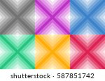 colorful abstract geometrical...   Shutterstock .eps vector #587851742