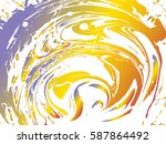 stains  mixing paint filled...   Shutterstock .eps vector #587864492