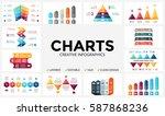vector arrows infographic ...   Shutterstock .eps vector #587868236