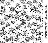 vector seamless pattern....   Shutterstock .eps vector #587889332
