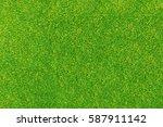 green grass texture | Shutterstock . vector #587911142