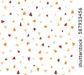 seamless triangle pattern....   Shutterstock .eps vector #587933456