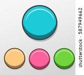 cartoon button