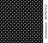 repeated white figures on black ... | Shutterstock .eps vector #587967512