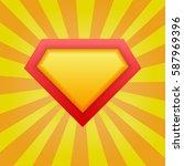 superhero background. vector... | Shutterstock .eps vector #587969396