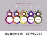 vector infographics timeline...   Shutterstock .eps vector #587982386