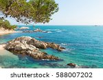 landscapes and details of the... | Shutterstock . vector #588007202